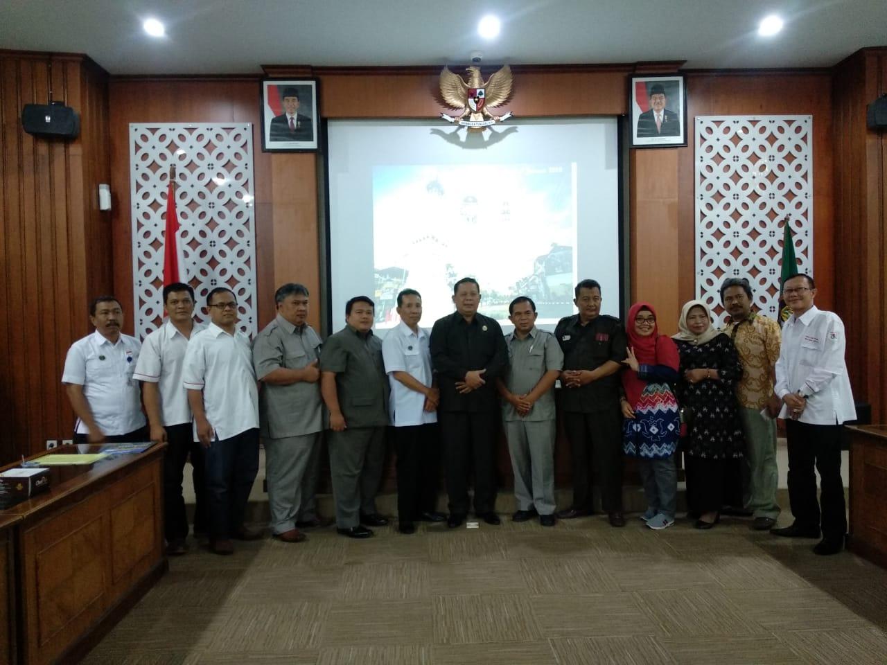 Penerimaan Kunjungan Kerja DPRD Kabupaten Pemalang