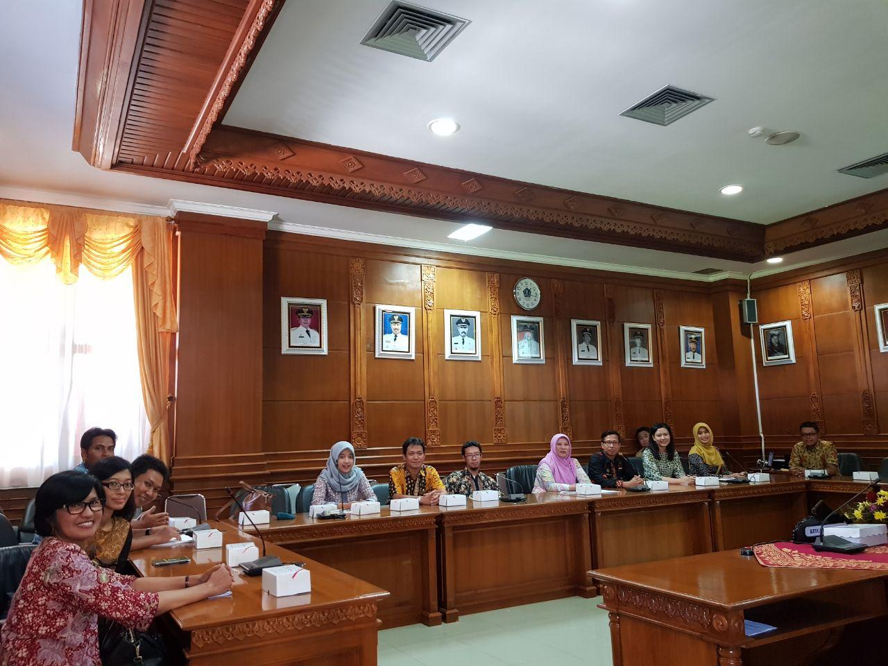 Kunjungan Kerja ke Pemerintah Kabupaten Badung